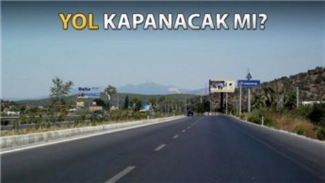Bodrum-Milas karayolunun geçtiği arazi icralık oldu!