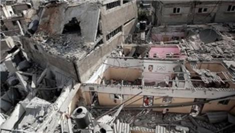 Gazze'de evleri yıkılan ailelere tazminatları ödeniyor