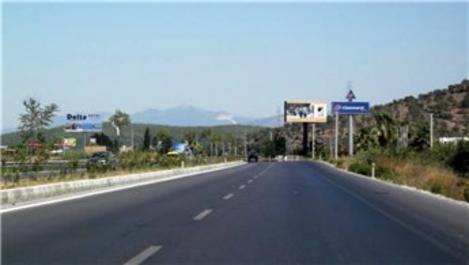 Bodrum-Milas karayolunun geçtiği arazi icralık oldu