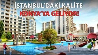 Temaşehir, 700 milyon TL yatırımla Konya'da yükseliyor