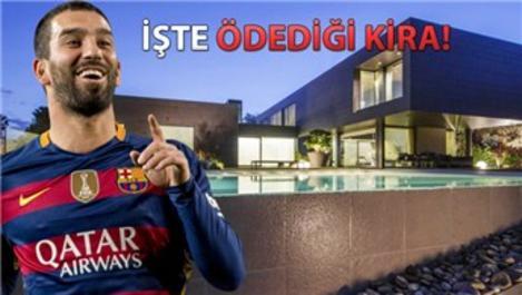 Arda Turan'nın Barcelona'daki evi hayran bırakıyor!