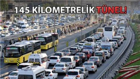 İstanbul'da trafik yer altına iniyor!