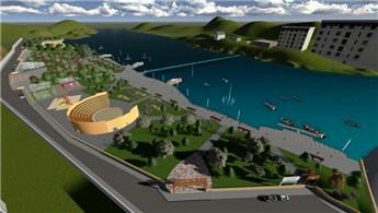 Cizre'de Dicle Nehri kenarına modern park yapıldı