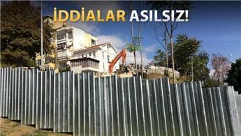 Beyoğlu Belediyesi'nden Roma Bahçesi açıklaması!