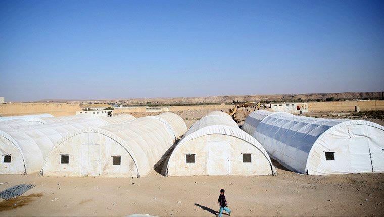 Cerablus'un yeni çadır kenti kapılarını açacak