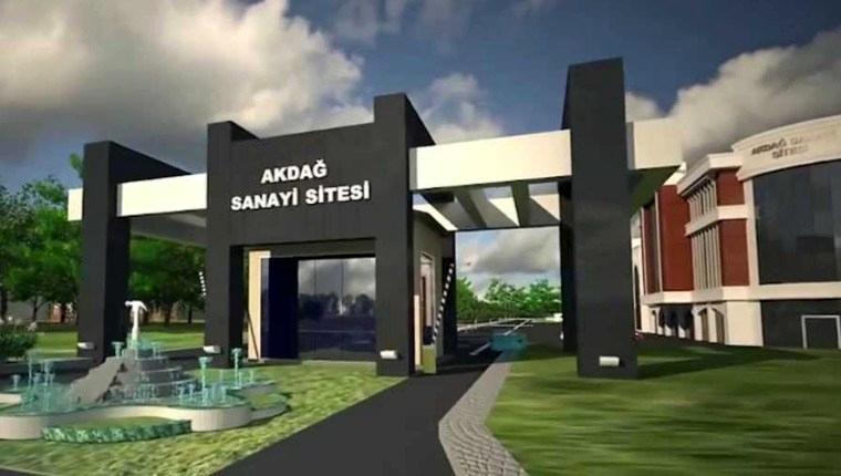 Erzurum Akdağ Küçük Sanayi Sitesi'nde 250 işyeri yapılacak