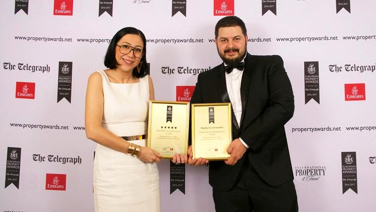 Renda Helin Design, European Property Awards'tan ödülle döndü!