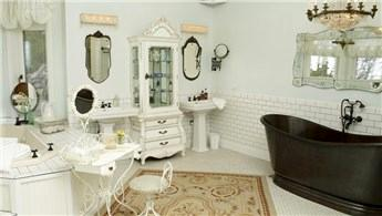 Vintage dekorasyonlar ile banyolara yenilik getirin!