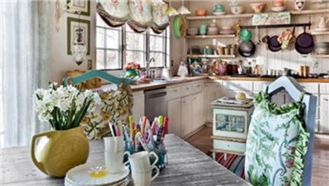 Eskilerin mutfak stili: Shabby Chic dekorasyonu