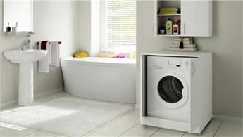 Banyonuza uygun çamaşır makinesi için dolaplar
