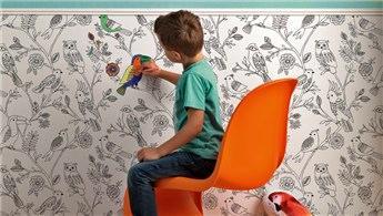 Çocuklar duvarlarını artık özgürce boyayabilecek!