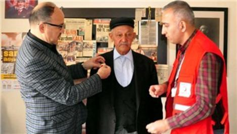 30 dönüm arazisini Türk Kızılayı'na bağışladı