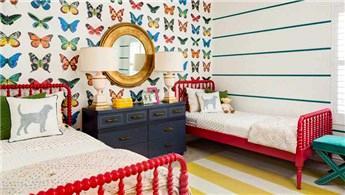 Kız çocukları için işlevsel yatak odaları!