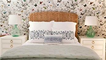 Baharı yaşatan ışıl ışıl yatak odası dekorasyonları!