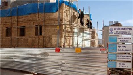 Kahramanmaraş'ta 250 yıllık tarihi konak turizme kazandırılıyor