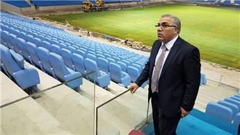 Akyazı Stadı'nda çim serimi tamamlandı!