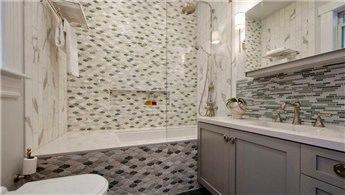 Banyoları griye bulayın!
