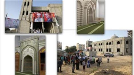 Türkiye Diyanet Vakfı, Gazze'de yıkılan camileri ayağa kaldırdı