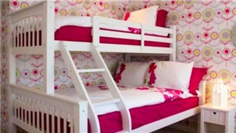 Çocuk odasında ranza ile alan açın!