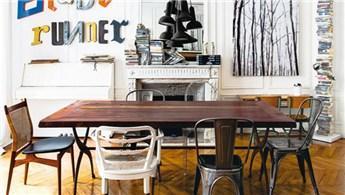 Yemek masaları için sandalye önerileri
