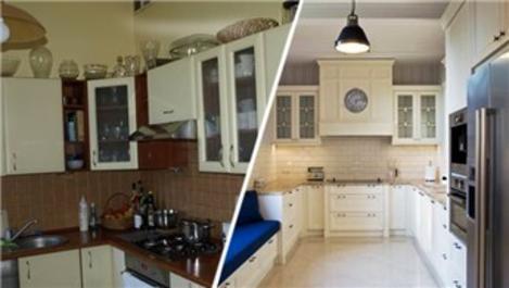 Öncesi/sonrası ile 3 farklı mutfak dekorasyonu!