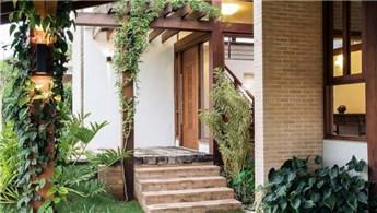 Zarif ev girişi dekorasyon örnekleri!