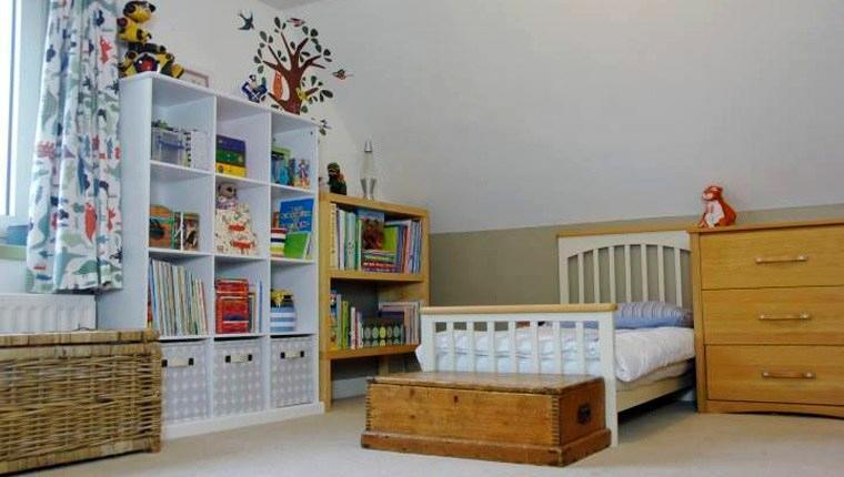çocuklara özel ev dekorasyonu