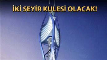 Çamlıca'daki dev kule 4 buçuk milyon turist çekecek