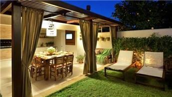 İlgi çekici teras, avlu ve bahçe dekorasyon fikirleri!