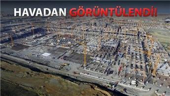 İstanbul Yeni Havalimanı'nın yüzde 38'i tamamlandı!