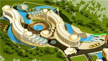 Yalova Termal Palace'a inşaat aşamasında yoğun ilgi
