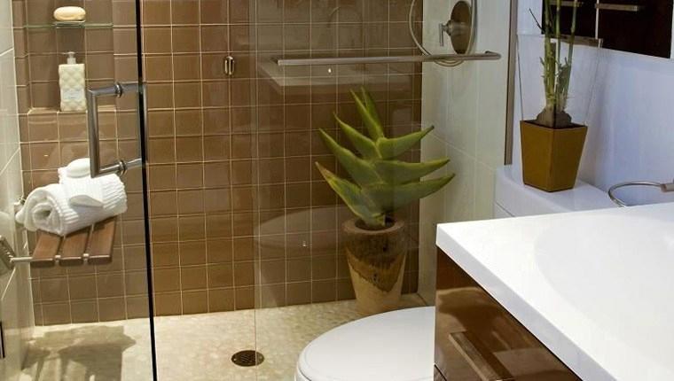 Küçük banyolar için dekoratif öneriler