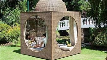 Tasarım harikası bahçe kulübeleri!