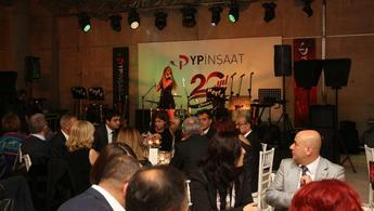 YP İnşaat 20'nci yılını kutluyor!