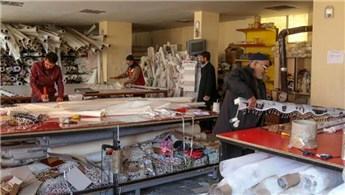 Depremde işyeri yıkıldı, İŞGEM sayesinde yeni atölyesini kurdu