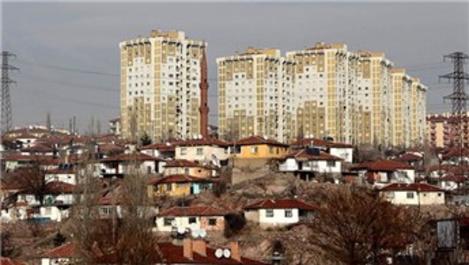 Ankara'da bazı alanlar kentsel dönüşüm alanı ilan edildi
