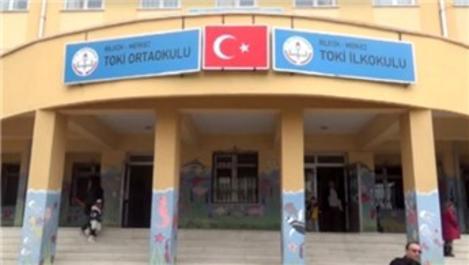 Bilecik'teki TOKİ İlkokulu'nda konferans salonu açıldı