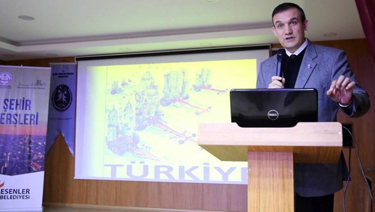 'İstanbul, dünyanın merkezinde bir şehir'