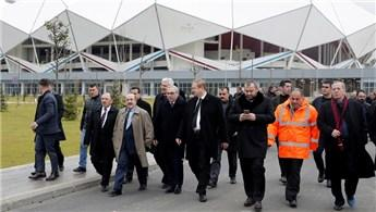 Akyazı Stadı'nda açılış öncesi son hazırlıklar!