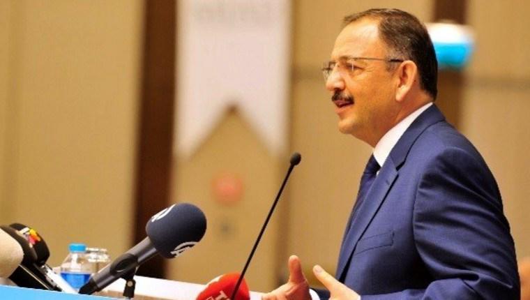 Mehmet Özhaseki'den imar planı açıklaması!