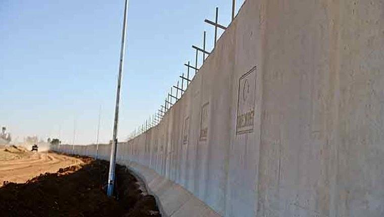 Suriye sınırındaki Türk Seddi nisanda bitiyor
