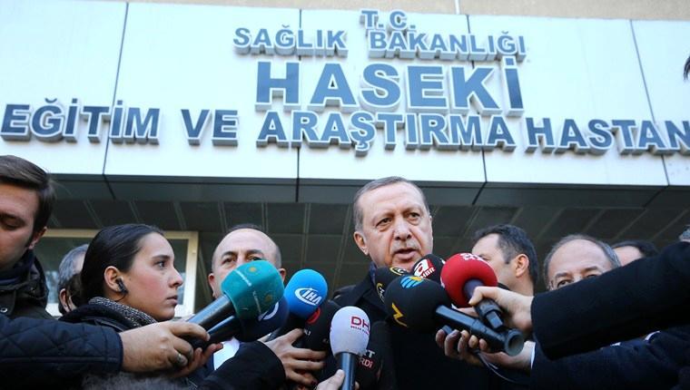 Cumhurbaşkanı Erdoğan yaralıları ziyaret etti!
