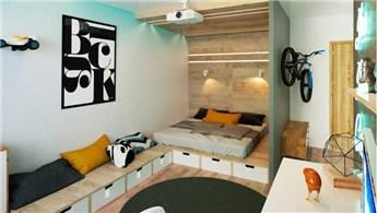 Küçük evler için farklı aksesuar ve tasarım örnekleri!