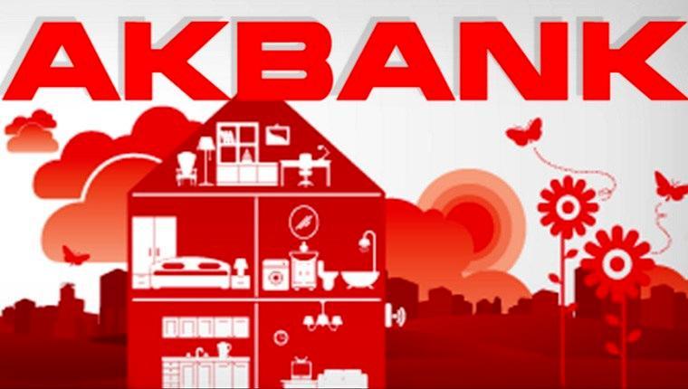 Akbank'tan ilk evini alacaklara özel chip-para!