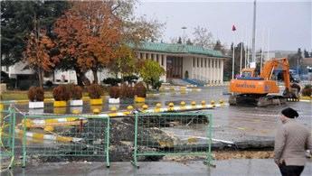 Atatürk Havalimanı Devlet Konukevi'ne güvenlik duvarı!