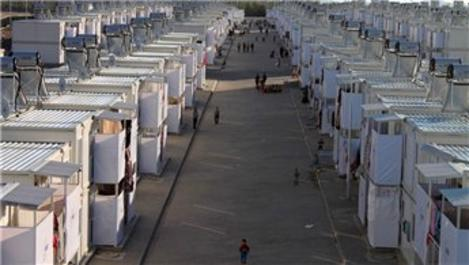 Kahramanmaraş'ta Suriyeliler için kurulan konteyner kent açılıyor