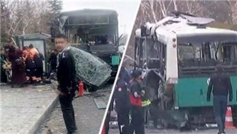 Kayseri'de Erciyes Üniversitesi yakınında patlama!