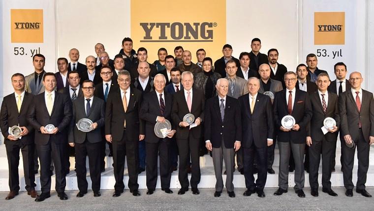 Türk Ytong 53'üncü yaşını kutladı!