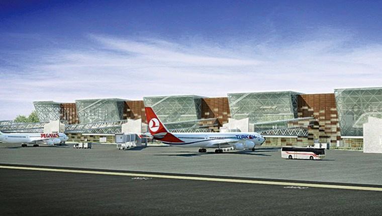 Yeni Ercan Havalimanı, KKTC'yi uçuracak!