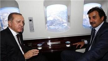Cumhurbaşkanı Erdoğan, Trabzon'a gelen Katar Emiri'ni karşıladı